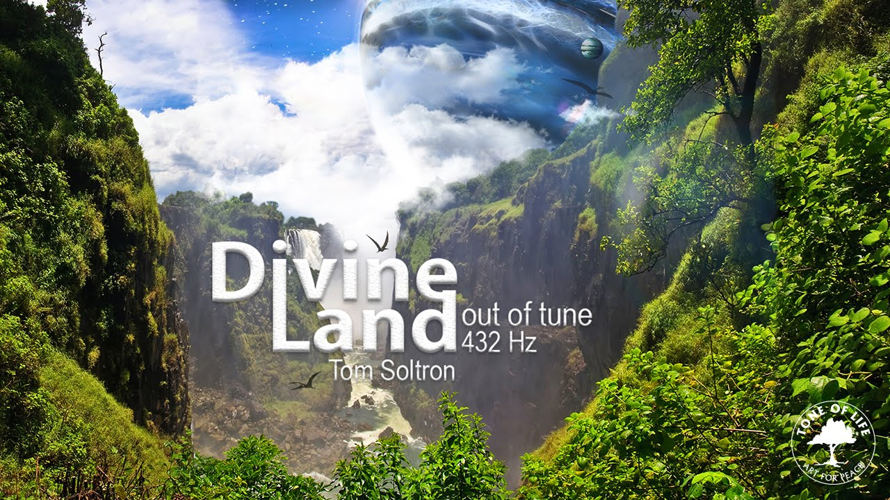Divine Land - Tom Soltron Meditation Album