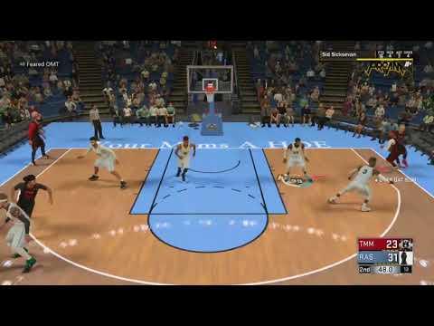 99 overall sid sicksevan NBA 2K18 PRO AM- RAS AL GHUL VS TMM (MADE MEN) GAME 1