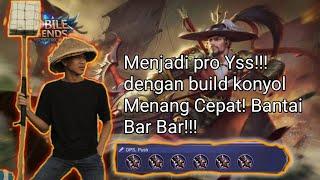 TOP 1 GLOBAL YI SUN SHIN SAVAGE!!! BANTAI MUSUH TANPA AMPUN!!! MOBILE LEGENDS INDONESIA
