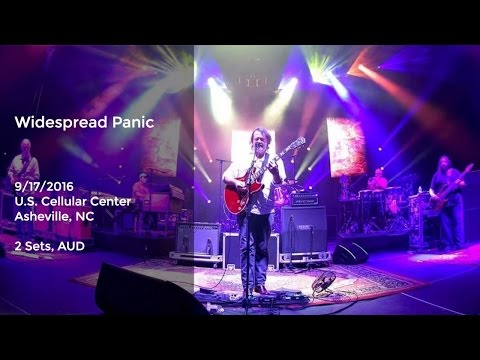 Widespread Panic Live at Asheville Civic Center - 9/17/2016 Full Show AUD