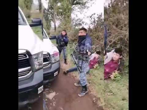 Detención adulto mayor en Puebla