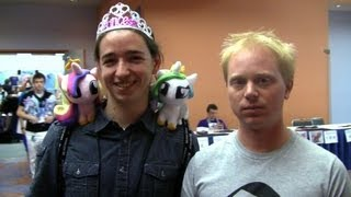 Joe Goes Bronies (My Little Pony Convention)