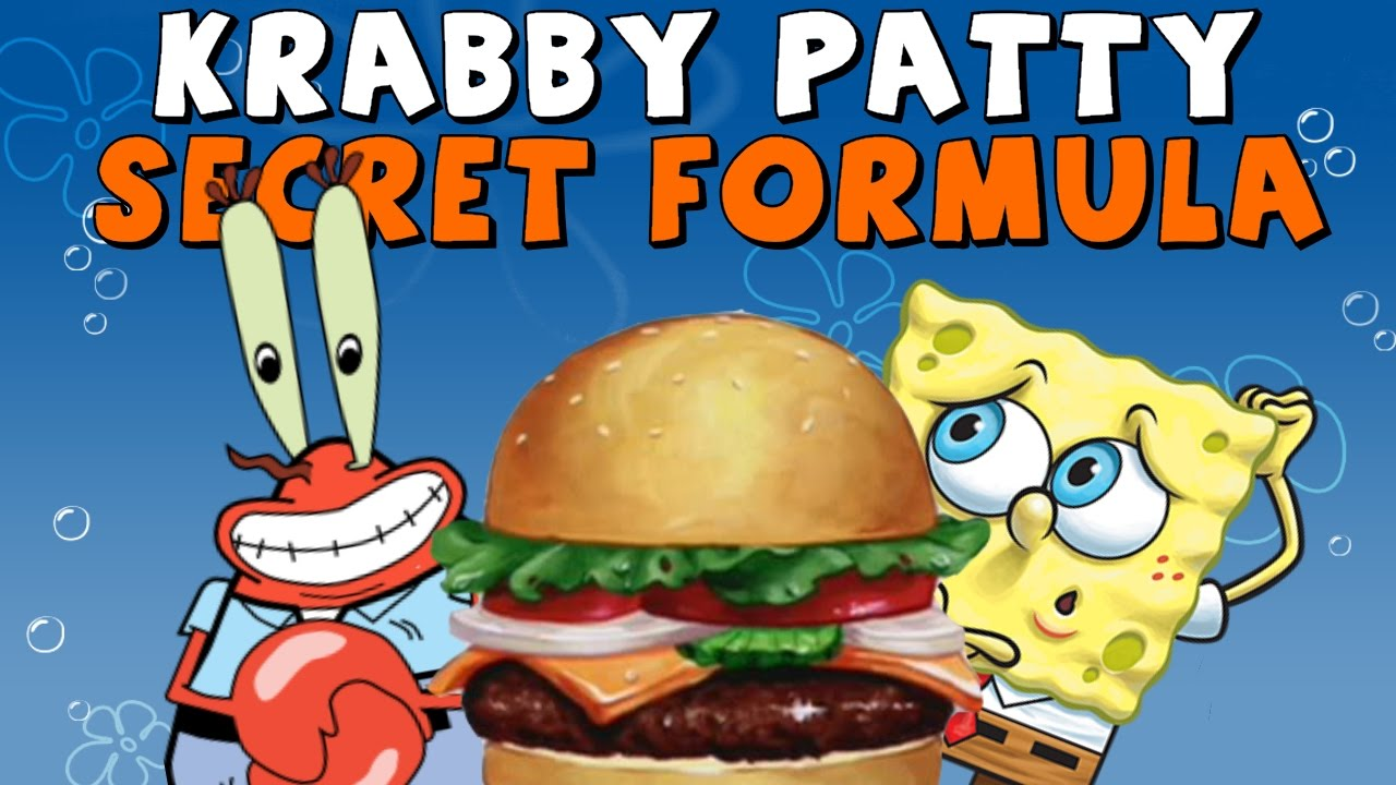 spongebob dating krabby patty Plankton may have had a tough time getting his hands on the krabby patty secret formula on spongebob squarepants, but that's probably because, in addition to.