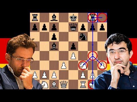 A Brutal Berlin   Levon Aronian vs Vladimir Kramnik   2018 Candidates Chess Tournament
