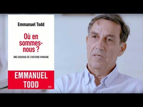 """""""Où en sommes-nous?"""" : entretien avec Emmanuel Todd Image 1"""