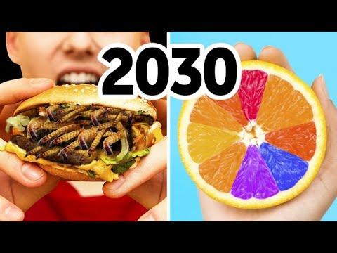 อาหารแห่งโลกอนาคต: เราจะกินอะไรกันในปี 2030