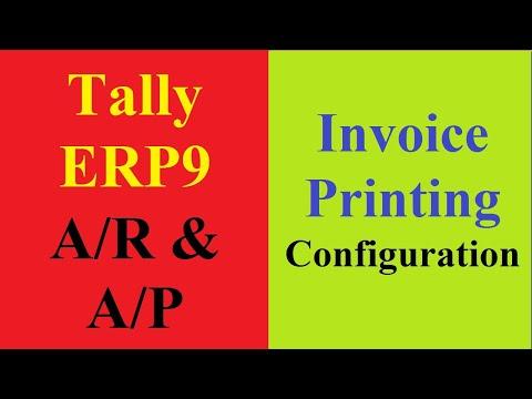 02 Invoice Printing Configuration P2 - YouTube