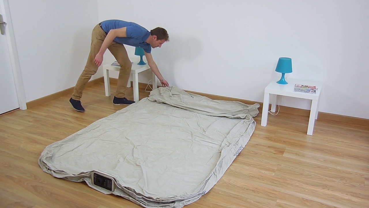 Intex Letto Materasso Gonfiabile.Materasso Gonfiabile Elettrico 2 Persone Intex Headboard Bed Fiber
