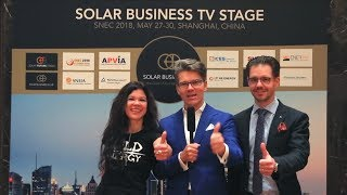 Join SOLAR FUTURE.TODAY to Solargize The World! RUSLANA, Winner of Eurovision & Sebastian Petretschek at TÜV Rheinland