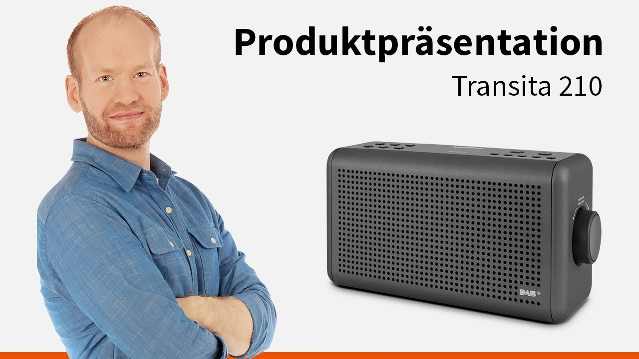 Video: Transita 210 | Portables Digitalradio und Bluetooth-Sound-Box in einem. | Nordmende