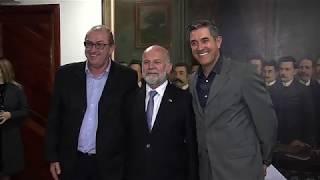 Assembleia Legislativa recebe a vista do embaixador de Luxemburgo no Brasil