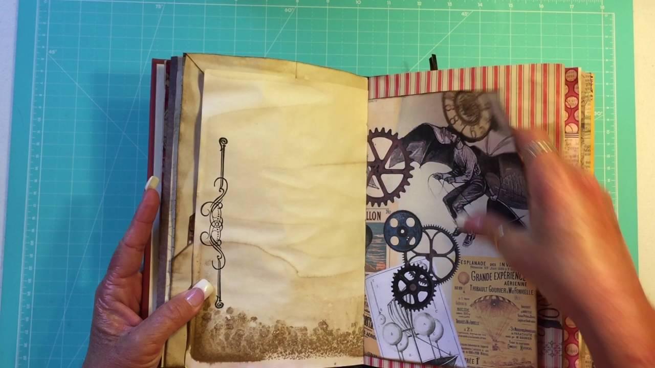 (SOLD) Vintage Steampunk/Sherlock Junk Journal | June 2016 ...