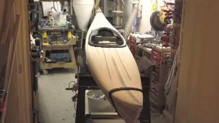 Rob's Wood Strip Kayak Build - Start To Finish (2.5 Years Into 13 Minutes!!)