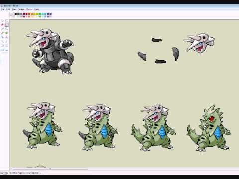 Pokemon Sprite Fusion - Tyranitar & Aggron - YouTube