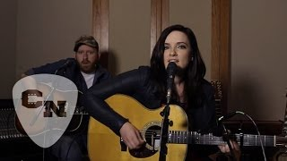 "Brandy Clark performs ""Stripes"" in an exclusive live recording sess..."