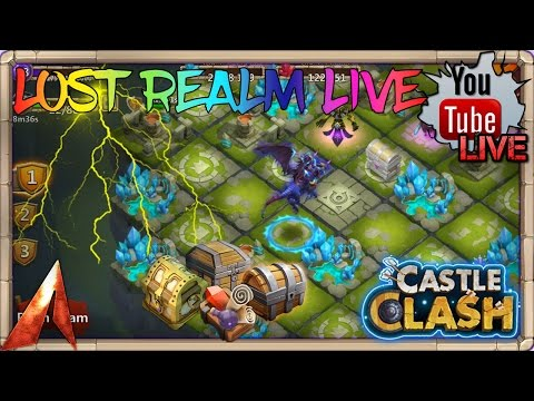 Castle Clash Lost Realm & Chill