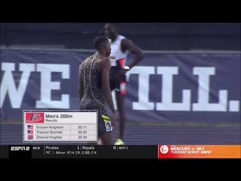 ¡Más rápido que Usain Bolt! Erriyon Knighton, un nombre para no olvidar