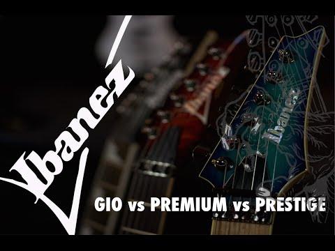 Ibanez Guitars RG Range - Model Comparison