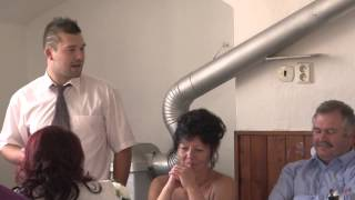 Svatba Tom + Kačka - Proslov