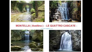 MONTELLA (Avellino) - LE QUATTRO CASCATE SUL FIUME CALORE e SUOI AFFLUENTI -