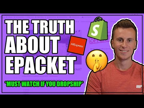 The TRUTH About EPACKET And How Long Delivery ACTUALLY Takes | Shopify Dropshipping 2019