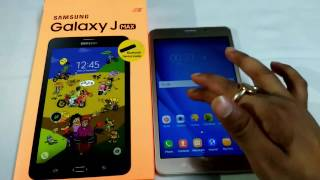 NEW Samsung Galaxy J MAX Tab Unboxing & Review (Gold 8 GB ,1.5 GB RAM) Fast -HIndi