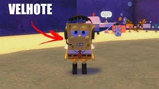 ROBLOX: THE OLD MAN TURNED INTO SPONGE BOB!! -Play Old man