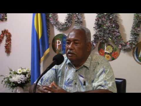 Talk Show w/ President of Palau Community College - 12/23/16
