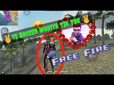 Ye haseen wadiya tik tok free fire video (Somnath Gameing Zone)