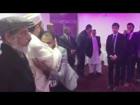 Saqibi brothers meeting their Murshid Sayyidi Pir Saqib Shaami hh in UK after an event
