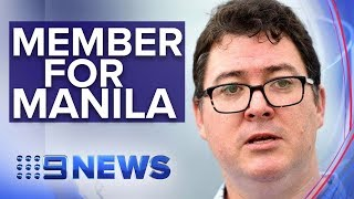 MP George Christensen's 28 trips to the Philippines investigated by police   Nine News Australia