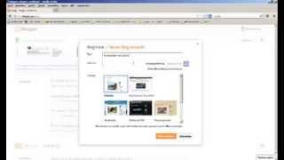 Blog erstellen bei Blogger.com und Profil ausfüllen.
