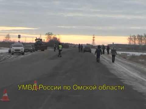 В Омской области в лобовом ДТП погибли пять человек