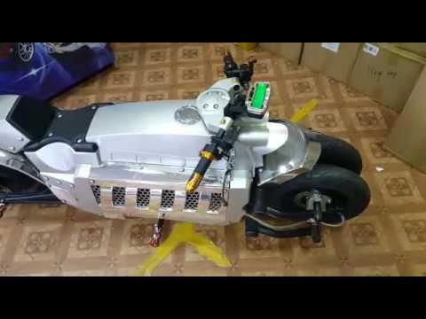 Электромотоцикл 120 км/ч техника будущего.