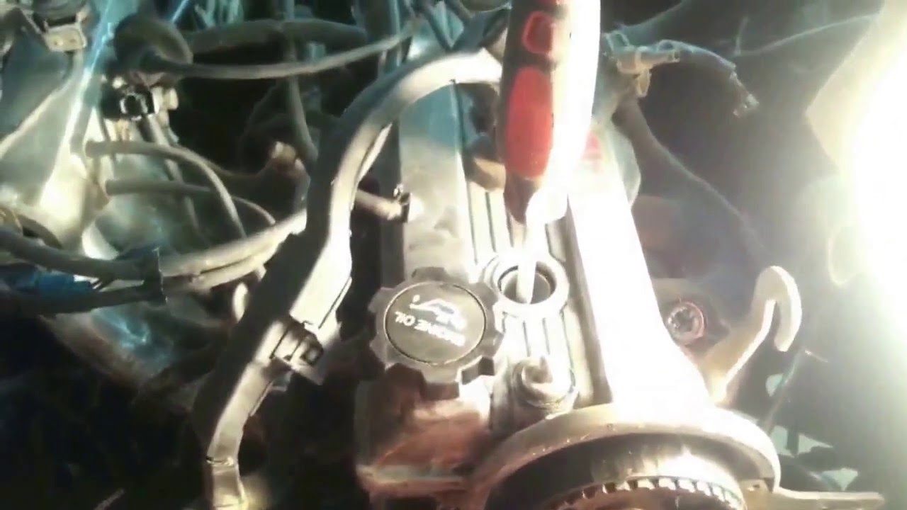 small resolution of timing belt replacement on 1991 toyota corolla 1 6l 40 mins full video dismantling assembling
