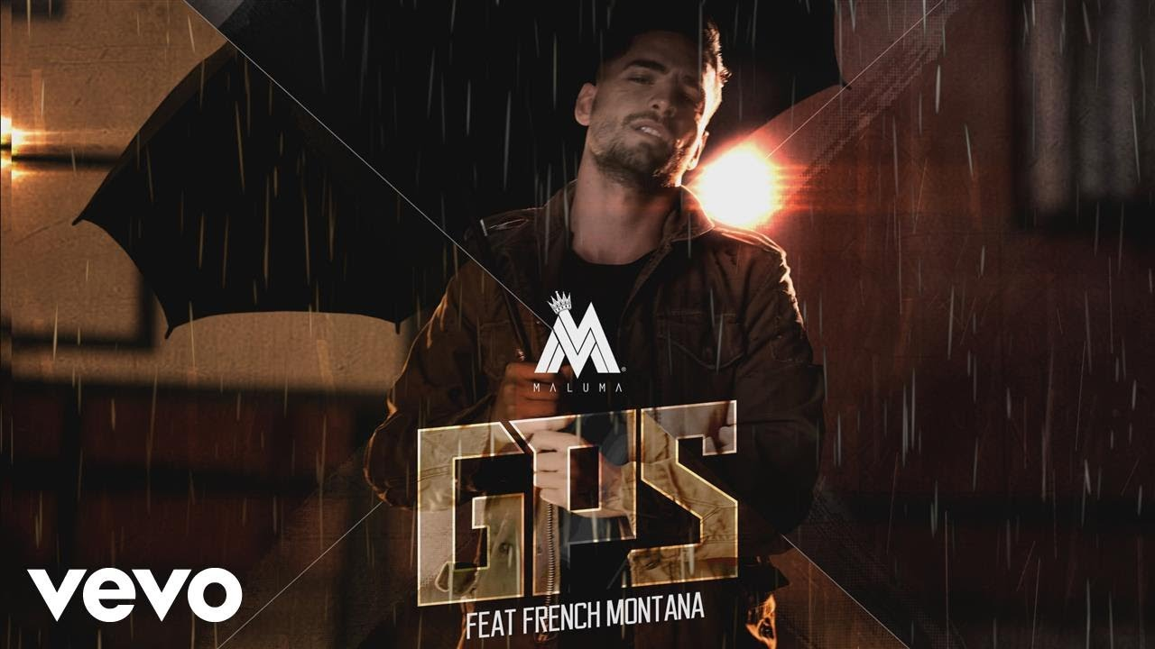 Maluma - GPS (Official Audio) ft  French Montana