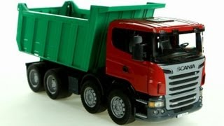 SCANIA R-Series Dump Truck (Bruder 03550) - Muffin Songs' Toy Review