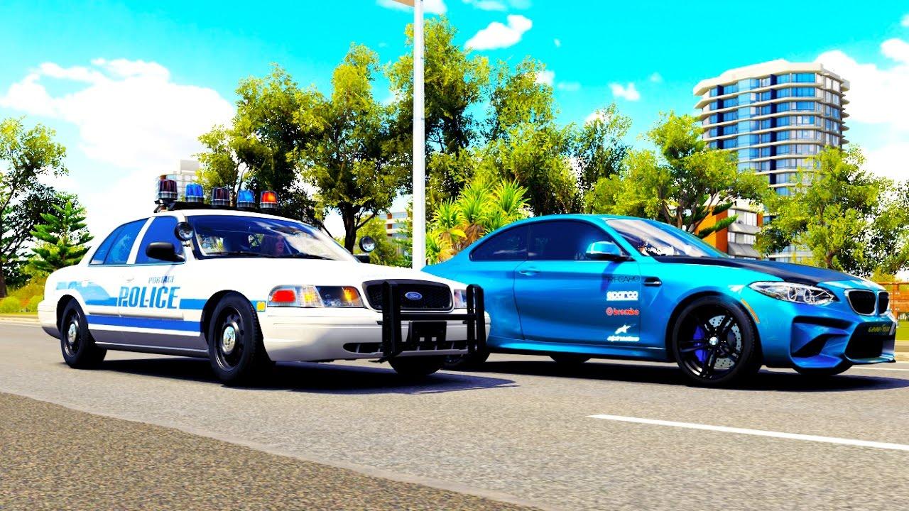 Cop Car In Forza Horizon