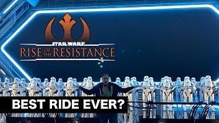 Rise of the Resistance in Star Wars: Galaxy's Edge is AWESOME