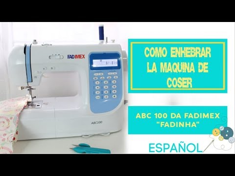 Cómo ENHEBRAR una maquina de coser | ModaByNill - YouTube