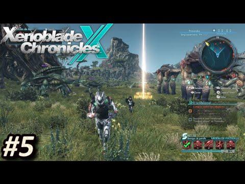 XENOBLADE CHRONICLES X (WiiU) - Episodio 5: Instalación de Sondas || Gameplay en Español