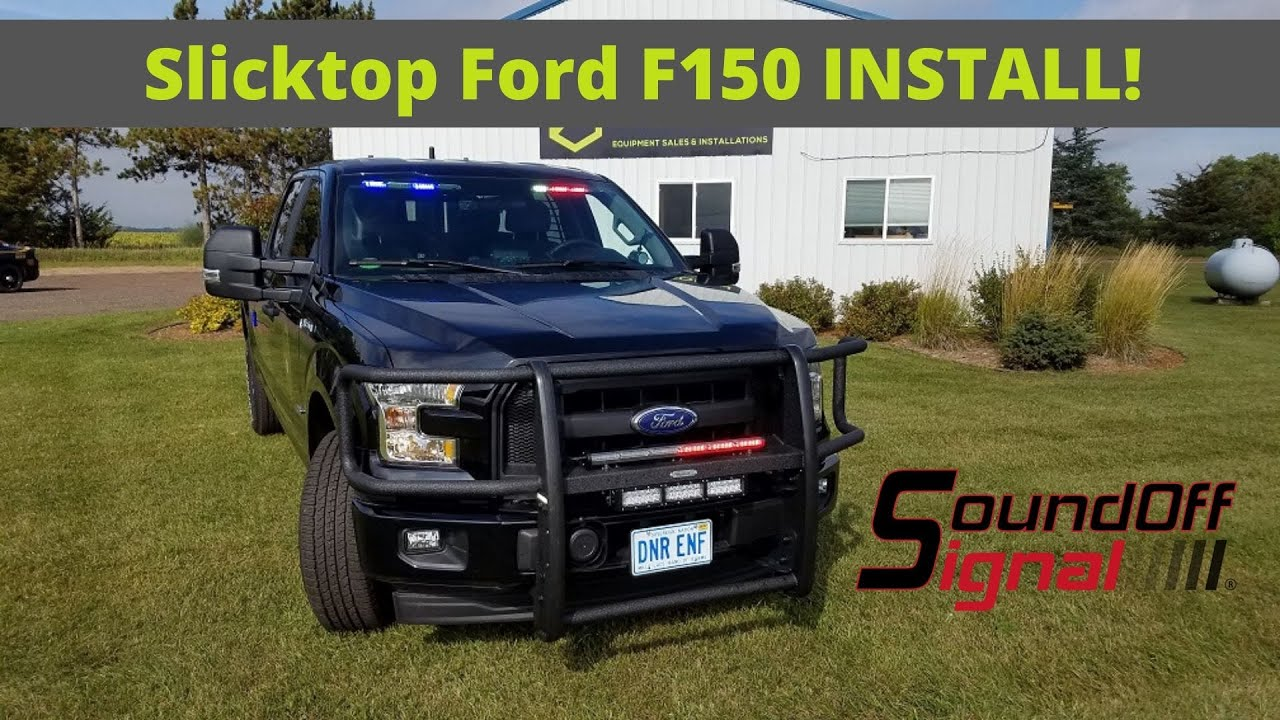 2017 Ford F150 Ssv Game Warden Police Truck