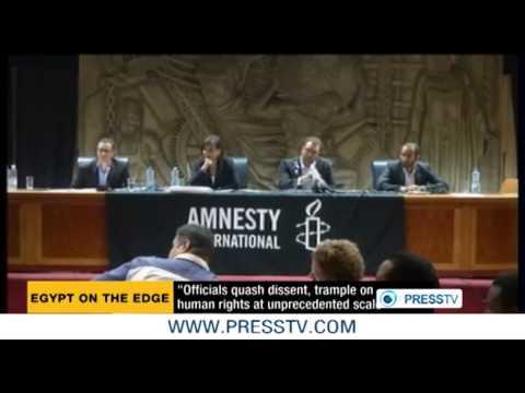Egypt quashing dissent, trampling on human rights: Amnesty