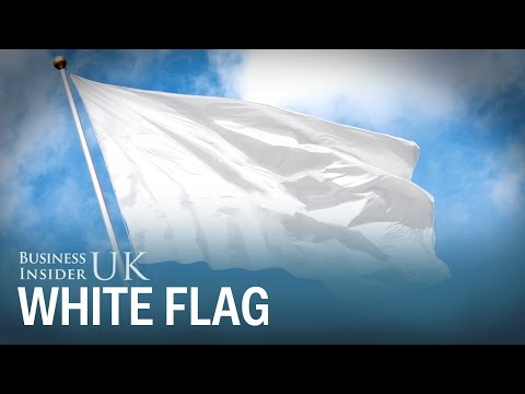 Why A White Flag Is Used As The Universal Symbol Of Surrender