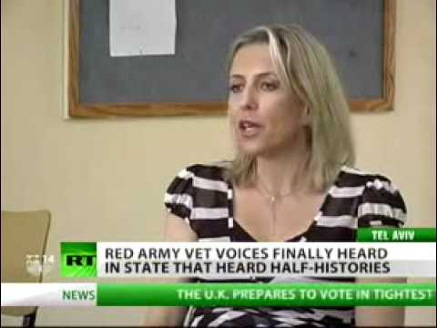 Newshound - Israel gives credit to Red Army after years of neglect.flv