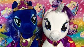 Build-a-bear Rarity Princess Luna Sounds My Little Pony Lyrica Lilac Lyra Heartstrings Diamond Tiara