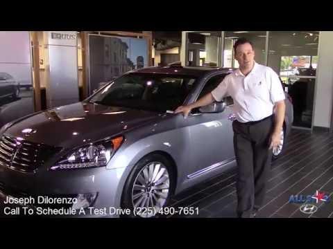 All Star Hyundai Safety Features on the 2016 Hyundai Equus