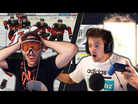 NHL 19 SKILLS CHALLENGE vs NASHER