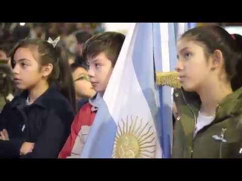 Cerca de 4 mil alumnos de San Martín prometieron lealtad a la Bandera