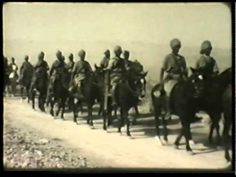 16th Light Cavalry marching from Quetta to Sibi, 1935